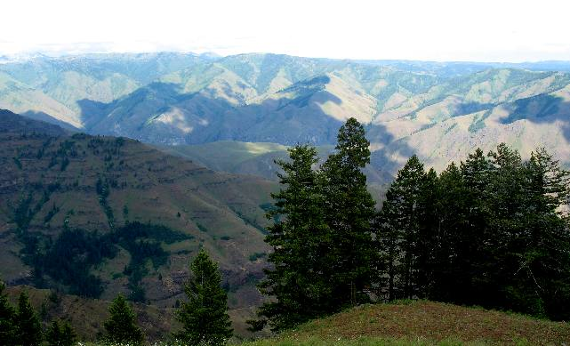 Hells Canyon, Oregon, and Idaho