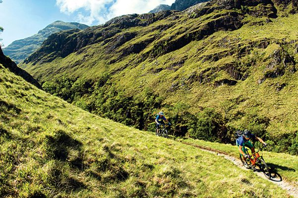 Stob Ban Mountain Biking, Scotland