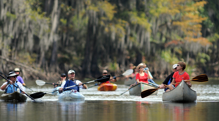 Caddo Lake Kayak tour
