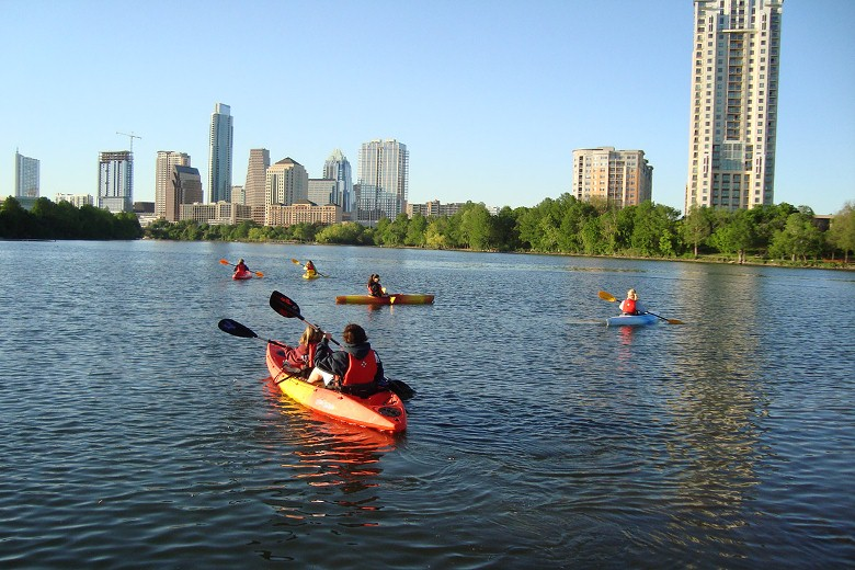 Lake Lady Bird Kayaking